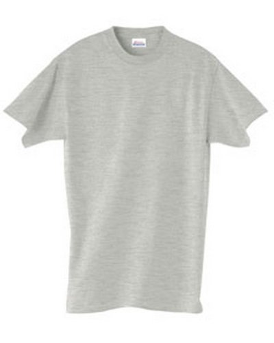 Hanes Adult ComfortSoftHeavyweight T-Shirt - Light Steel (90/10) - S