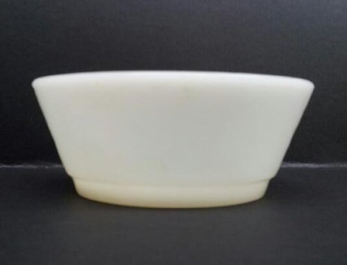Anchor Hocking Fire King White Cereal Bowl (Anchor Bowl Milk Hocking Glass)