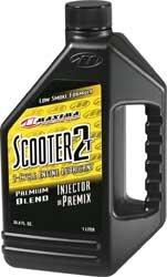 maxima-26901-scooter-2t-2-stroke-premix-injector-oil-1-liter-bottle