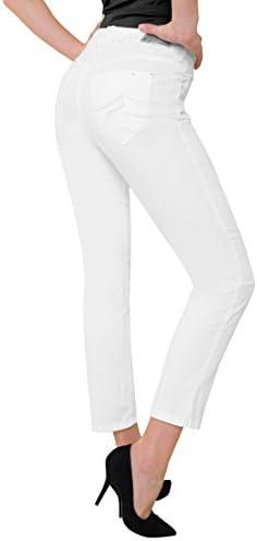 Atelier GARDEUR 7/8-Magic-Jeans, weiß - (670171 ZURI24 FB:201 GR. 36)