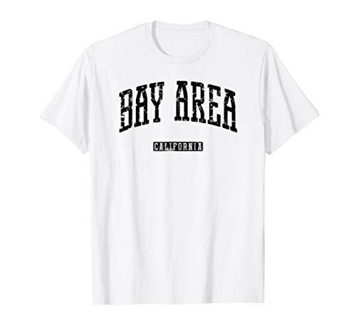 Bay Area California Vintage City - Bay Shirt Area White