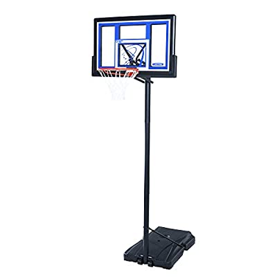 Lifetime 1531 Portable Basketball System, 48 Inch Shatterproof Backboard