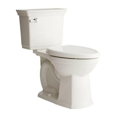 American Standard Optum VorMax Complete Right Height 2-piece 1.28 GPF Elongated Toilet in White BONUS includes seat