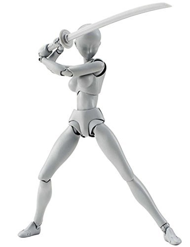 Kikyou SH Figuarts Man DXグレーアクションフィギュアセット、PVCメンズレディース文字モデルDXアクションフィギュアモデルセットSHFアートアニメおもちゃ5.7インチ用 グレイ