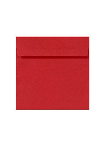 UPC 638499432363, 8 1/2 x 8 1/2 Square Envelopes - Ruby Red (50 Qty.)