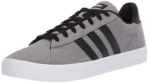 adidas mens Daily 2.0 Sneaker, Grey/Black/White, 7.5 US