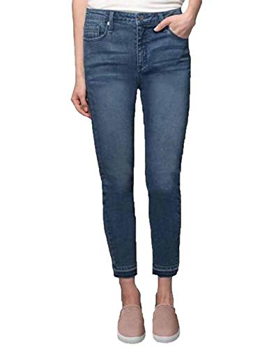 (Kenneth Cole Ladies' Stretch Ankle Skinny Jeans (Blue, 4))