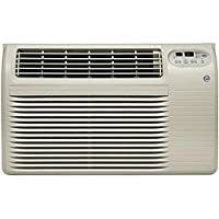 GE AJCQ12ACF 26 Thru-the-Wall Air Conditioner with 12,000 BTU Cooling and Remote Control in Grey (Grey)