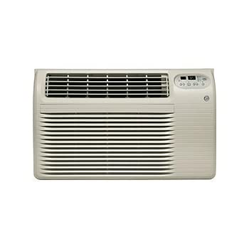 ge ajcq12acf 26 thru the wall air conditioner with 12 000 btu cooling and remote. Black Bedroom Furniture Sets. Home Design Ideas