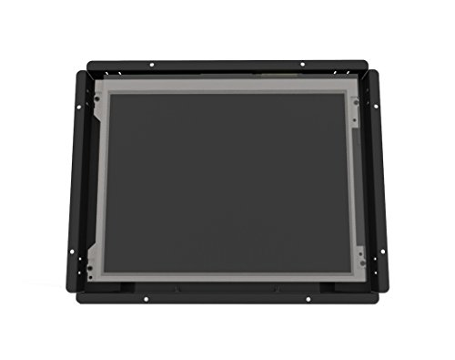 Inelmatic OF1200 12.1 Inches Sunlight Readable SKD 4:3 Open Frame Monitor Industrial Grade DVI/HDMI/VGA/USB/RS232 ()