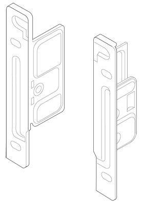 Blum ZSF.1700 R METABOX Right Screw-On