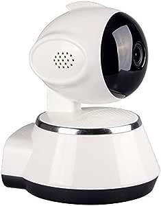 كاميرا لاسلكية الملكية الفكرية لعموم / الميل في الأماكن المغلقة مراقبة الطفل اللاسلكية واي فاي شبكة P2P التطبيق دعم للرؤية الليلية 2 الطريقة الصوتية كاميرات أمن الوطن (أبيض)