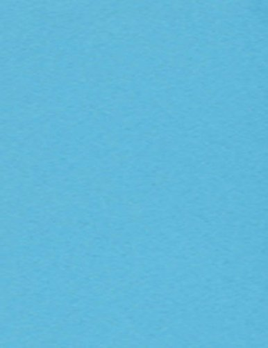 8 1/2 x 11 Cardstock - Bright Blue (1000 Qty.)