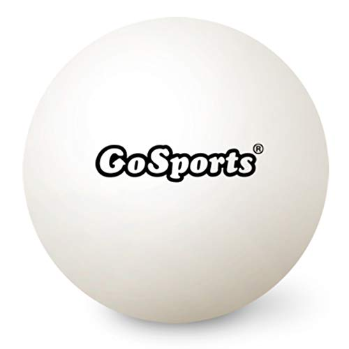 GoSports 55mm XL Ping Pong Balls 12 Pack | Jumbo Table Tennis Balls for Ping Pong Training or Other Toss Games