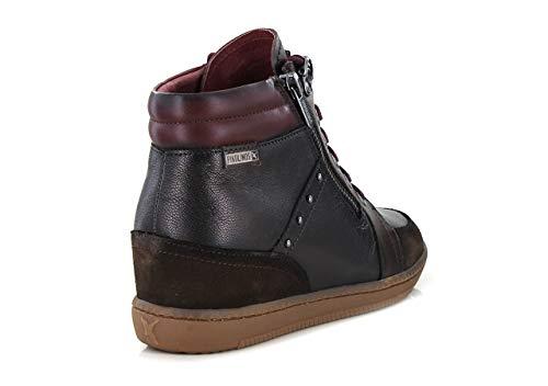 Donna Beet i18 W8u Pikolinos beet Rosso Alto Collo A Tavira Sneaker 0n1vO7