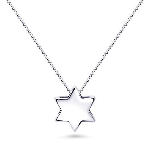 Jewish Religious Star of David Necklace For Women