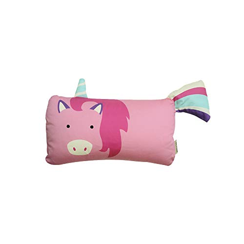 MILO & GABBY Original Animal 3D Toddler Pillowcase for Babies and Kids, 100% Cotton Emily The Unicorn, 12x20 from MILO & GABBY