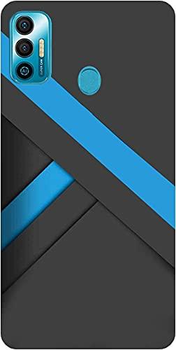 Amagav Soft Silicone Printed Mobile Back Cover for Tecno Spark 7-Design297