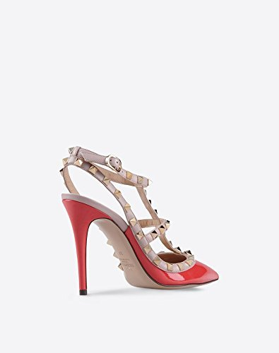 873ffdd22eae4 Valentino Rockstud Ankle Strap Red Sandals: Amazon.co.uk: Shoes & Bags