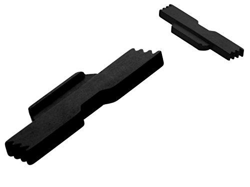 NDZ Performance Extended Lock Lever for Glock 43 9MM Black (Takedown Plate) ()