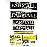 IH Farmall Regular: Mylar Decal Set