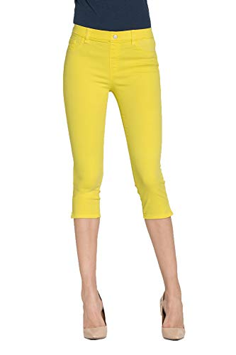 L Para Carrera Liso Jeans Es Extensible Mujer Color Jeggings Tejido fzFwcqPA6