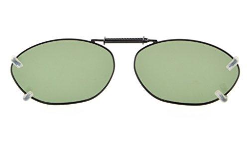 clip de metal lente 51x33MM de gafas en polarizado Eyekepper Marco borde G15 sol nZY4x61