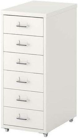 Helmer Cassettiera Con Rotelle Ikea.Ikea Helmer Cassettiera Su Ruote Bianco Amazon It Casa E Cucina