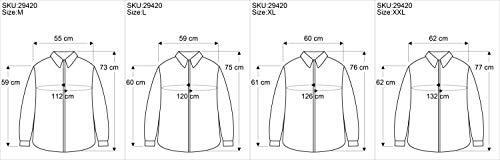 GURU-SHOP, Camicia Yoga, Camicia Goa, Sintetico, Camicie da Uomo