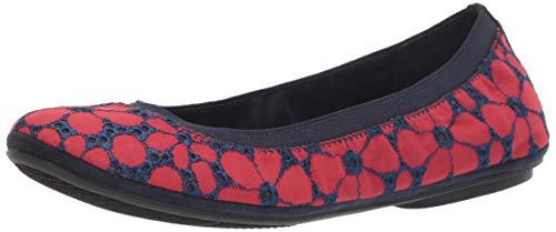 Bandolino Women's Edition Loafer Flat, Red, 11 Medium US