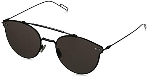 Dior Homme Pressure 807 Black Pressure Round Sunglasses Lens Category 3 Size ()