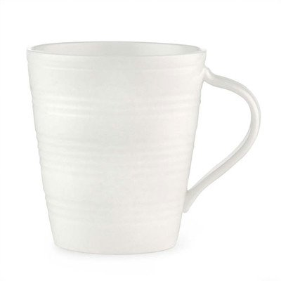 - Tin Can Alley 13 oz. Mug [Set of 4] Color: White