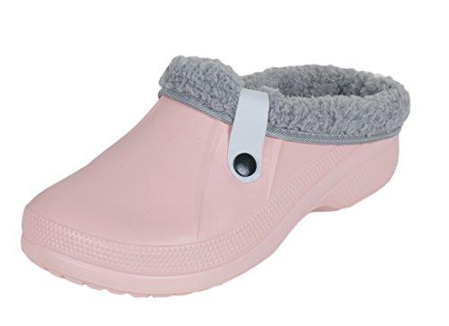 brandsseller - Zuecos de Material Sintético para mujer Rosa - rosa