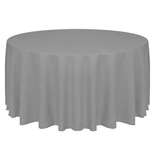 Ultimate Textile  Faux Burlap - Havana 90-Inch Round Tablecl