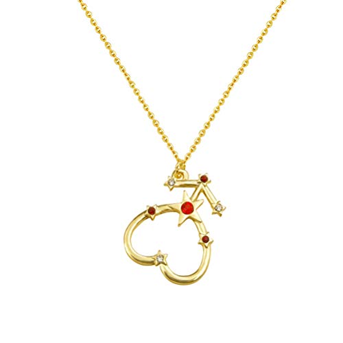 Sailor Moon Guardian Star Pendant Necklace Nine