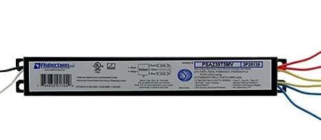 ROBERTSON 1P20138 OEM-Pak of 10 Fluorescent eBallasts for 2 F28T5 Linear Lamps, Program Start, 120-277Vac, 50-60Hz, Normal Ballast Factor, HPF, Model PSA228T5MV AH (Successor to Model PSA228T5MV /A) Robertson Worldwide