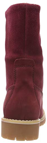 26443 red Rouge Femme Bottes 500 Rangers 21 Tamaris Oxqw47SdO