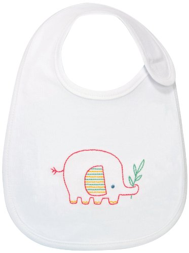 Dimensions Crafts Embroidered Bibs Elephant