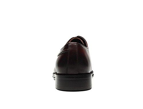 Hombres Formal Negocio Real Cuero Zapatos Inteligente Oxford para los hombres Encajes Punta puntiaguda Negro marrón Boda Oficina Trabajo Fiesta Brown