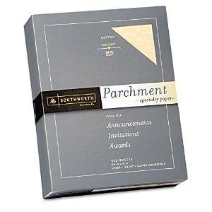 Southworth - Fine Parchment Paper, 24lb, Copper - Ream by MegaDeal