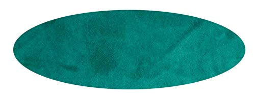 Fitted Poker Table Top Made in Alur Suede - Ultimate Slick Felt Style Tablecloth Cover (Green, 72