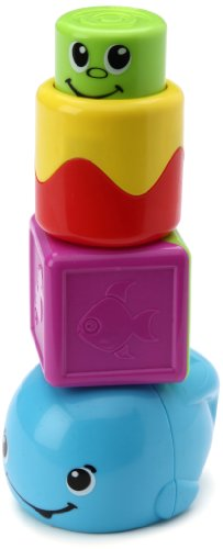 - Fisher-Price Stack 'n Surprise Blocks Peek-a-Boo Whale