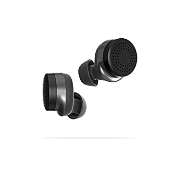 Here One Wireless Smart Earbuds: 3-in-1 Noise Cancelling & In Ear Bluetooth Headphones iPhone Compatible (Black)
