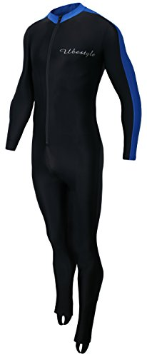Ubestyle Lycra Full Body Sports Skins Rash Guard Swimsuit - Diving Snorkeling Swimming