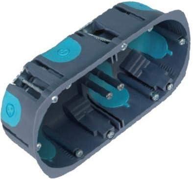 Profondeur 50 mm 4PRO Boite dencastrement BBC Lot De 50-1 Poste Diametre 67 mm