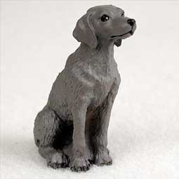 - Weimaraner Miniature Dog Figurine