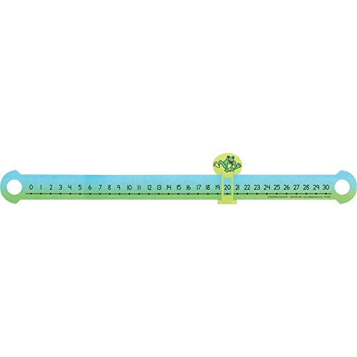 Really Good Stuff Slide and Learn Number Line - Durable Plastic Number Line Focuses on Numbers 0 to 30 - Practice Addition, Subtraction and Skip Counting - Fun for School and Home, 21