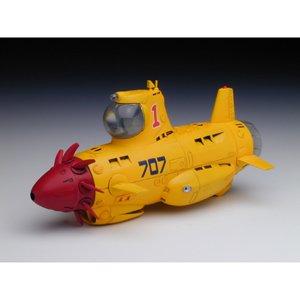 プラッツ 1/48 X-6 サブマリン707R JUNIOR プラモデル