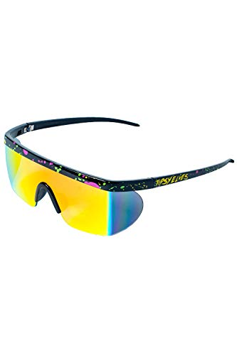 Performance Style Neon Hundo P. Reflective Sunglasses