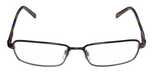 Etro Ve9543 Womens/Ladies Designer Full-rim Spring Hinges Eyeglasses/Eye Glasses (52-15-140, Eggplant / Gray / - Etro Eyewear